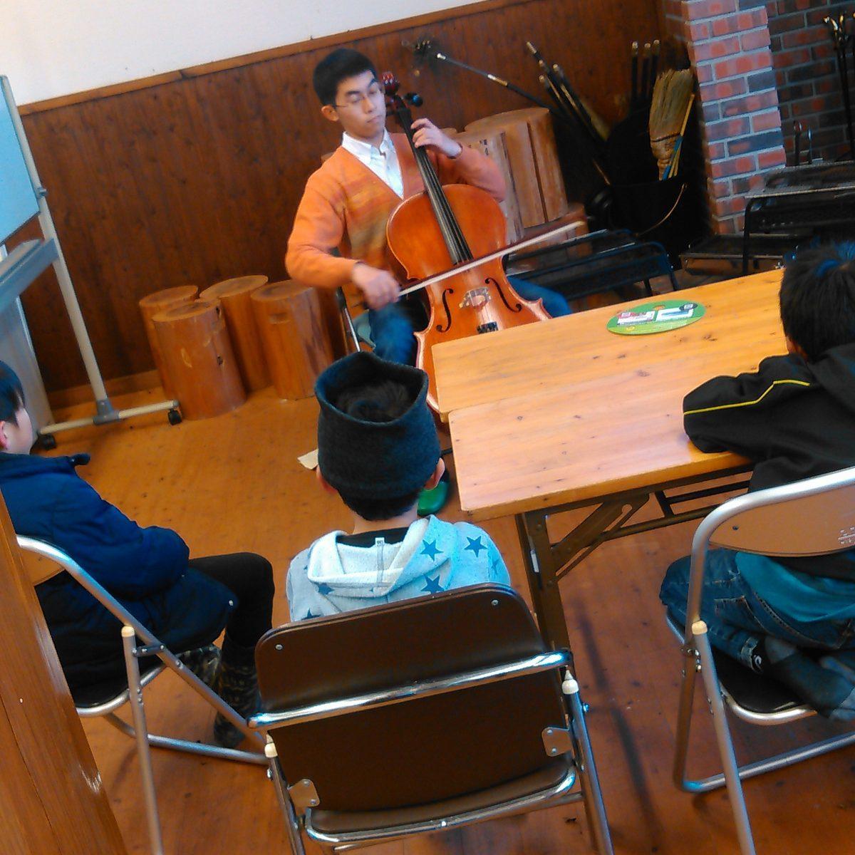 チェロの演奏会